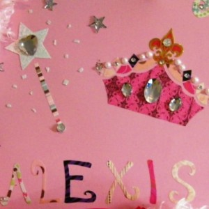 Princess themed art