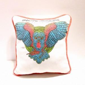 Imagine Dragons T-shirt pillow