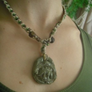 Ta Prohm Creature Carving Necklace