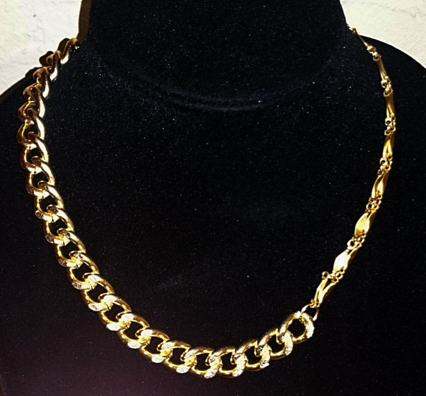 Multi Strand Gold Necklace, Gold Chain, Gold Necklace, Layered Necklace