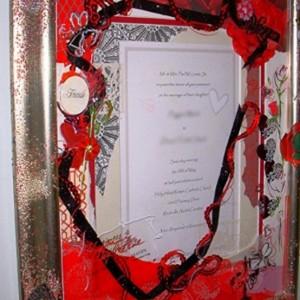 Decorated Wedding Invitations