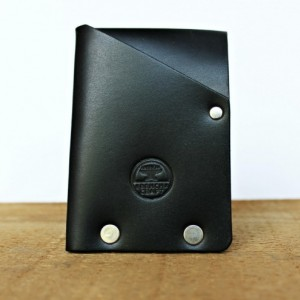 Hammer Riveted Half Wallet