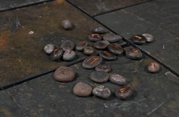 Elder Futhark River Rock Rune Stones