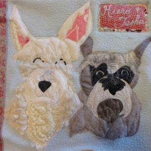 Beloved Buddy Memory Quilt- a unique and vibrant way to celebrate your pet -  (SMALL)
