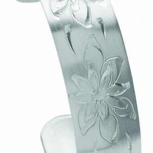 December Pewter Cuff Bracelet