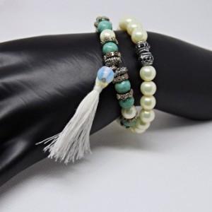 Stacked Tassel Bracelet