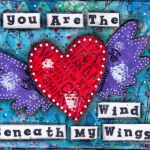 Wind Beneath My Wings Canvas Art