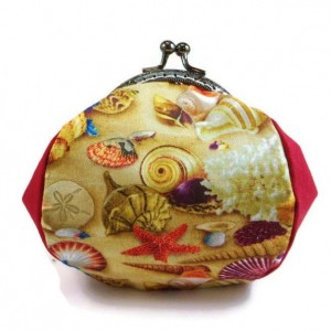Ocean Theme Change Purse, Clasp Change Purse, Bags and Purses