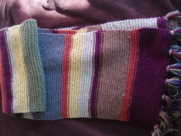 Fourth Doctor Scarf