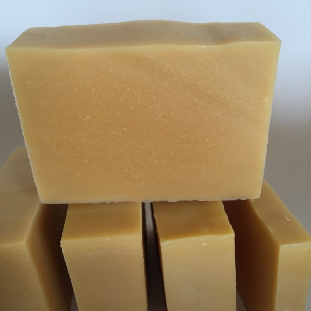 Goat milk and carrot soap, unscented soap, natural soap, gentle cleansing soap, fragrance free soap