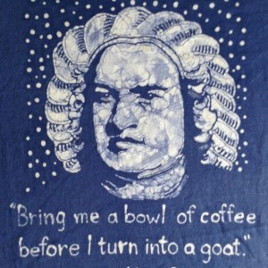 Bach Quote Custom Batik Tshirt