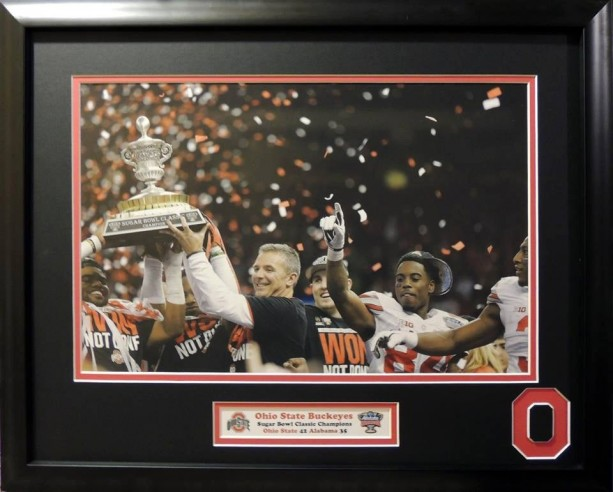 Ohio State Buckeyes Sugarbowl Classic victory over Alabama Crimson Tide