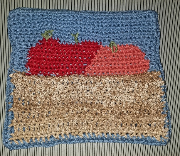Fruit Basket Pot Holder