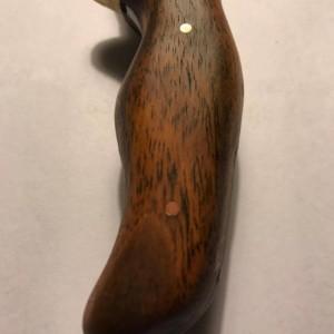 Bocote knife handle