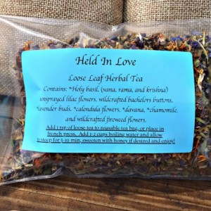 Held In Love Tea 1 oz