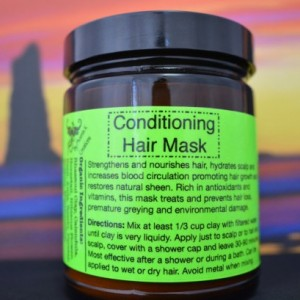 Conditioning Hair Mask-9 oz.-Organic