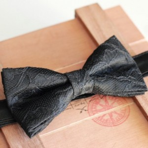 Black Lace Bow Tie - Wedding Bow Tie Groom Bow Tie Bridal bow Tie Bridal party Prom Bow Tie Groomsmen bow tie Baby Bow Tie Black Bow Tie