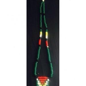 Guyana Pride Beaded flag neckalce