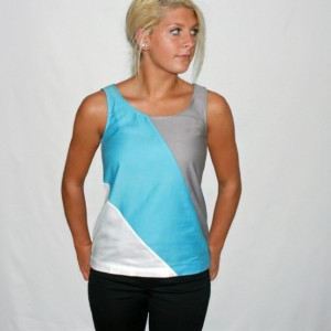 Milwaukee Blue Organic Tank Top