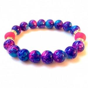 Bright marble bracelet