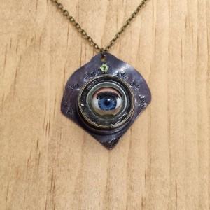 Doll Eye Peridot Necklace