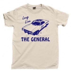 General Lee Men's T Shirt, 1969 Dodge Charger Dukes Of Hazzard Duke Boys Unisex Cotton Tee Shirt