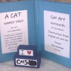 White Cat Photo Greeting Cards #2-Handmade Notecard-Cat Notecard-Cat Notecards-Cat Card-Cat Cards- white cat-tabby cat-cat art stationery
