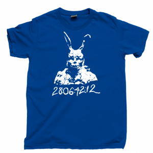Donnie Darko Men's T Shirt, 28:06:42:12 Frank Bunny Rabbit Stupid Man Suit Unisex Cotton Tee Shirt