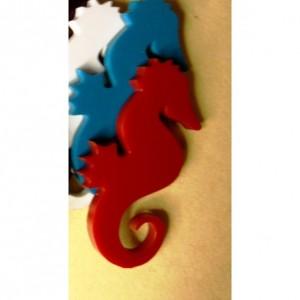 seahorse charms, laser cut charms,beach charms