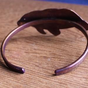 Copper Manatee bracelet