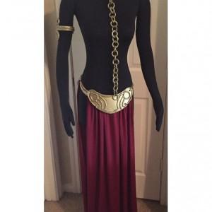 Slave Leia Cosplay Costume