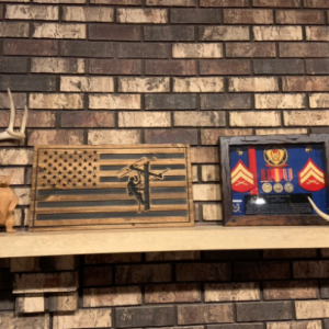 Lineman Decor Lineman Gifts Gifts for Linemen Linemen Wall Decor Gifts for Him Rustic Lineman Decor Lineman American Flag