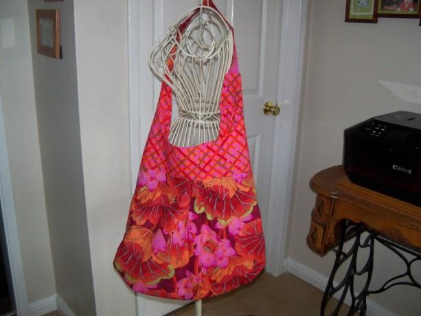 Floral Slouch Bag