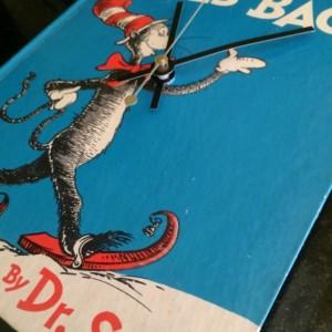 Children's Book Clock Dr Suess