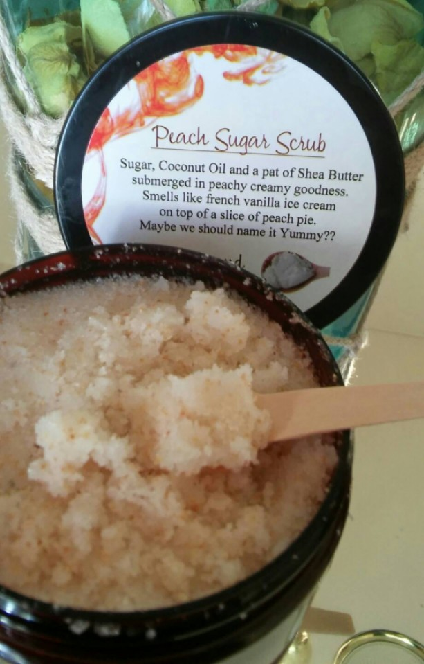 Peach Sugar Body Scrub