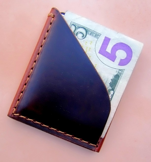 Personalized front pocket wallet, minimal wallet, card holder, small wallet, monogramed wallet great gift for him, slim wallet, made in USA