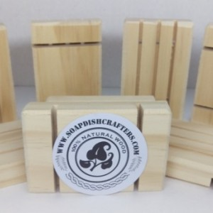 100 Yellow Pine Soap Dishes