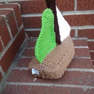 Crochet Toy Sailboat