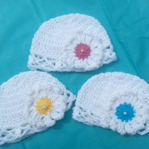 3 Hats Set,newborn girl,baby shower gift,crochet hat,baby clothes,baby gifts,gifts for baby,beanie babies,baby girl clothes,baby girl gift
