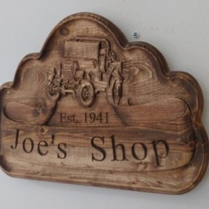 Personalized Jeep V Carved Wooden Sign #Jeep