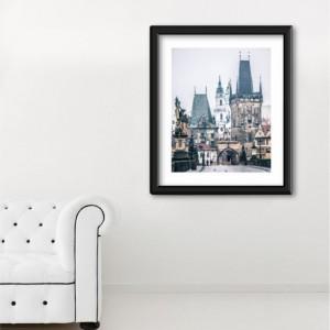 """Prague Photography, Prague Print, Charles Bridge, """"Grand Entrance"""""""