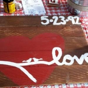 Love Bird Anniversary Sign, Wedding Gift, Love, Pallet Sign, bird pallet sign, Personalized wedding gift, personalized housewarming gift