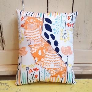California Throw Pillow - Small