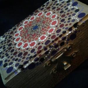 Gold Mandala Jewelery Box