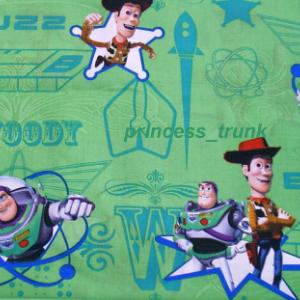 NEW Handmade Disney Toy Story Buzz/Woody Green Dress(2) Custom Sz 12M-14Yrs