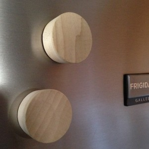 Bourbon Barrel Bung Refrigerator Magnets, set of 2, free shipping