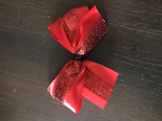 Small Glitter Bow