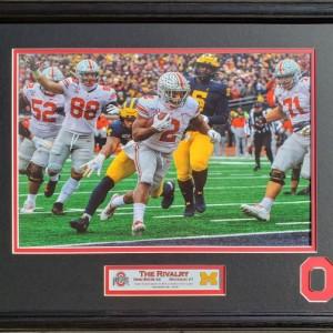 Ohio State vs Michigan 2019 The Rivalry Custom Framed Picture