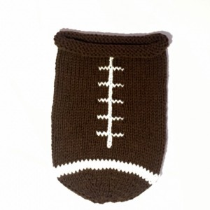 Knit Football Cocoon