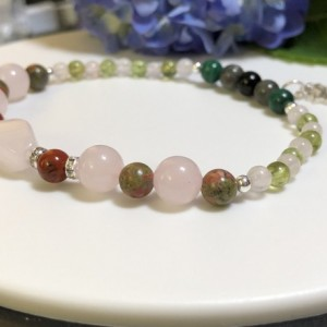 Holistic Pregnancy Birth Bracelet  |  Ease of Labor  |  Normal Delivery  |  Strong  Baby  |  Healing  |  925 Silver Lotus Charm